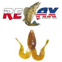 Relax - Gumová nástraha Banjo Frog 1 - blister 5ks - 4,5cm