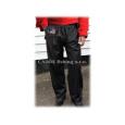 Hell-Cat - Nepromokavé kalhoty černé - XXXL - VÝPRODEJ