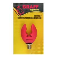 GRAFF - Rohatinka gumová Big Carp růžová