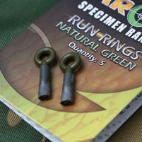 GARDNER - Průběžné kroužky na zátěž Target run rings bal. 5ks  zelené