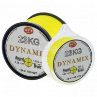 WFT - ROUND DYNAMIX KG Žlutá 0,30mm/26kg/1000m