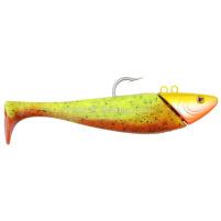 SPRO - Jig + ripper Mega jig shad 470g - 24cm - orange/chartreuse
