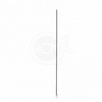 DAM - Prošívací jehla Baiting needle 12,5cm / 2ks