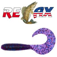 Relax - Gumová nástraha Twister 4 - blister 5ks - 8cm