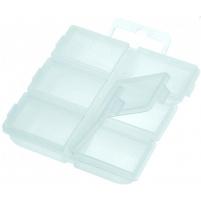 Carp System - Krabička 6 polí  76x70x15mm