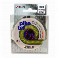 BROLINE - Pike tef - 0,20mm - 14,10kg - 2x 10m