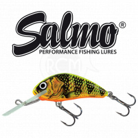 Salmo - Wobler Hornet floating 5cm - Gold Fluo Perch