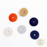 RCM - Záběrová guma čihátko 2ks / 2mm - transparentní
