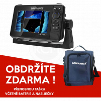 Lowrance - Echolot HDS-7 LIVE with Active Imaging 3-in-1 (ROW) + Taška ZDARMA !