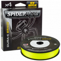 SPIDERWIRE - Šňůra DURA 4, 0,12mm  10,5kg - 150m, žlutá