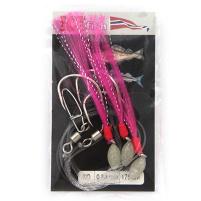 ICE fish - Třásně 7/0, 0,8mm, 175cm - Barva Růžová