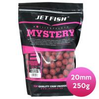 JET FISH - Boilie Mystery 20mm 250g - Jahoda/Moruše
