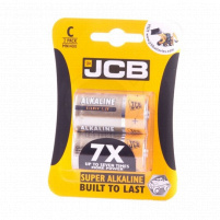 JCB - Baterie LR14/C - Super alkaline - 1,5V - balenín 2ks