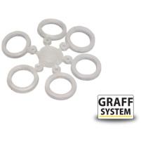GRAFF - Silikonový kroužek průhledný S