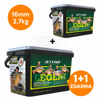 JET FISH - Boilie LEGEND 2,7kg / 16mm - Protein bird + A.C. multifruit 1+1 ZDARMA !