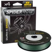 SPIDERWIRE - Šňůra DURA-4 0,14mm, 11,8kg - 150m, zelená