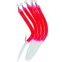 ICE fish - Trubičky RF červená vel : 4/0  5ks