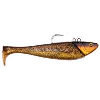 SPRO - Jig + ripper Mega jig shad 470g - 24cm - golden cod