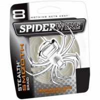 SPIDERWIRE - Šňůra SMOOTH 0,14mm průsvitná 150m