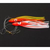 RON THOMPSON - Návazec Sea rig 10 / octopus 12cm glow / háček vel. 5/0 / vlasec 0,60mm