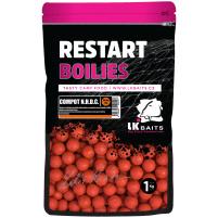 LK Baits ReStart Boilies Compot NHDC  20 mm, 1kg