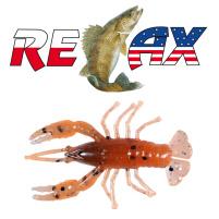 Relax - Gumová nástraha Crawfish 2 - Barva L068 - blister box 4ks - 5,5cm