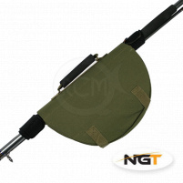 NGT - Pouzdro na naviják Reel protector with attached rod bands