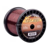 Gamakatsu - Vlasec G-Line hnědý návin - 0,35mm - po 1m