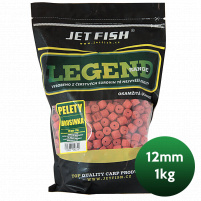 JET FISH - Pelety LEGEND RANGE 1kg 12mm - Brusinka