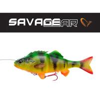 SAVAGE GEAR - Nástraha 4D Line thru perch 17cm / 63g - Firetiger