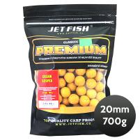 JET FISH - Boilie PREMIUM CLASSIC 700g 20mm - Cream/Scopex