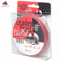 Hell-Cat - Návazcová šňůra Leader Braid Line Red - 0,90mm - 75kg - 20m