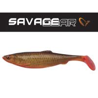 SAVAGE GEAR - Umělá nástraha - 4D Herring Shad 19cm / 45g - Blood belly - VÝPRODEJ