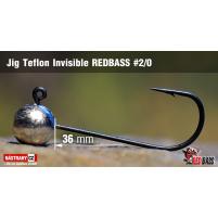 Red Bass - Jig koule Teflon invisible 2/0