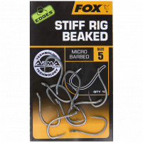 FOX - Háčky Arma point STIFF RIG BEAKED vel. 6