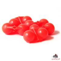 Hell-Cat Chrastítko Scream Balls Red,5ks