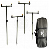 Giants Fishing Sada hrazd s tyčemi Buzzer Bar Set