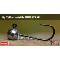Red Bass - Jig koule Teflon invisible 6