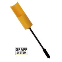 GRAFF - Držák prutu Lux - Žlutý