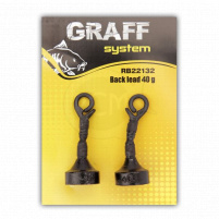 GRAFF - Back lead 30g, 2ks