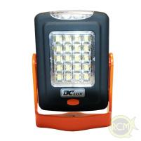 BC - Baterie - Svítilna Worklight 20+3 led, oranžová