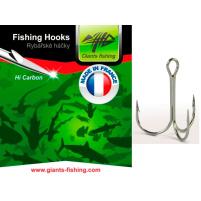 Giants Fishing - Trojháček Round Treble 5ks / vel.14