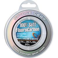 SAVAGE GEAR - Fluorocarbon 0,60mm / 48lb (21,6kg) / 20m / clear