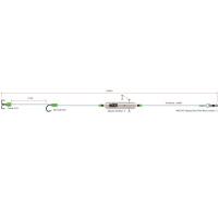MADCAT - Hotový návazec Adjusta basic river rig ´´livebait´´ vel. S