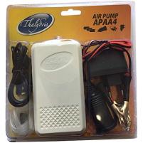 Thalydris - Vzduchovací motorek 3xAA/USB/auto adaptér/220V/kabel se svorkami