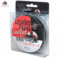 Hell-Cat - Návazcová šňůra Leader Braid Line Black 0,90mm - 75kg - 20m