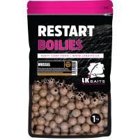 LK Baits ReStart Boilies Mussel  18 mm, 250g