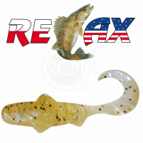 Relax - Gumová nástraha Super Banjo 3 - Barva L011 - 5,5cm - Blister 5 ks