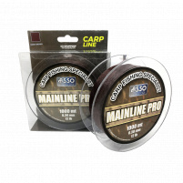 ASSO - Vlasec Mainline Pro Brown 1000m 0,35mm 16lb