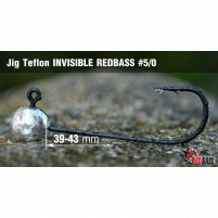 Red Bass - Jig koule Teflon invisible  5/0